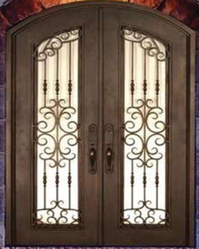 Elegant Iron Door