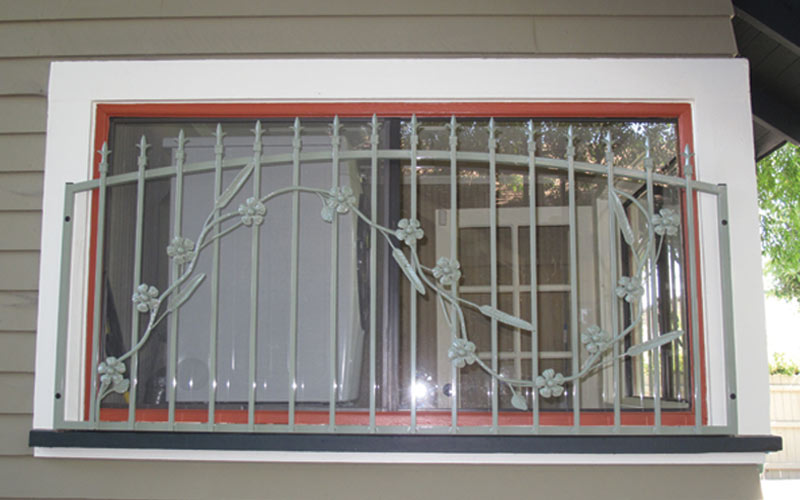 Iron Window Shield